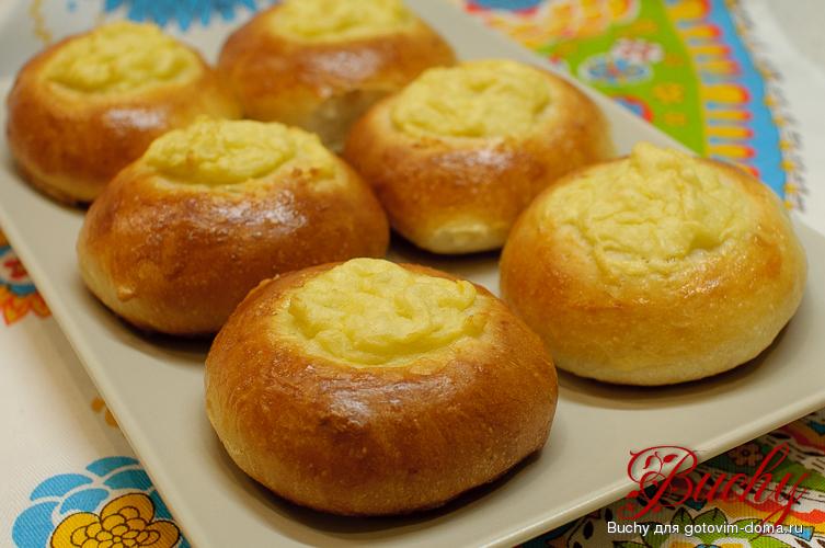 ватрушки с картофелем рецепт фото