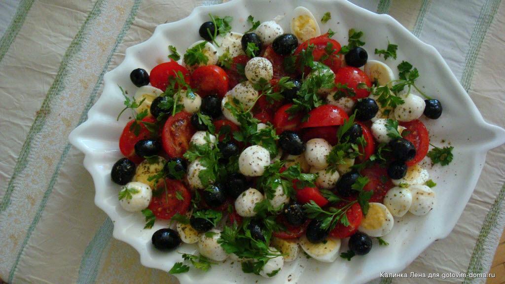 Салат милые крошки рецепт с фото