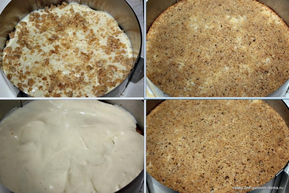 Бисквитные торты с фото бесплатно