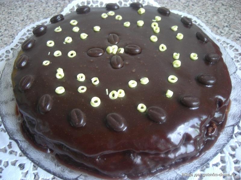 торт негр рецепт фото пошагово