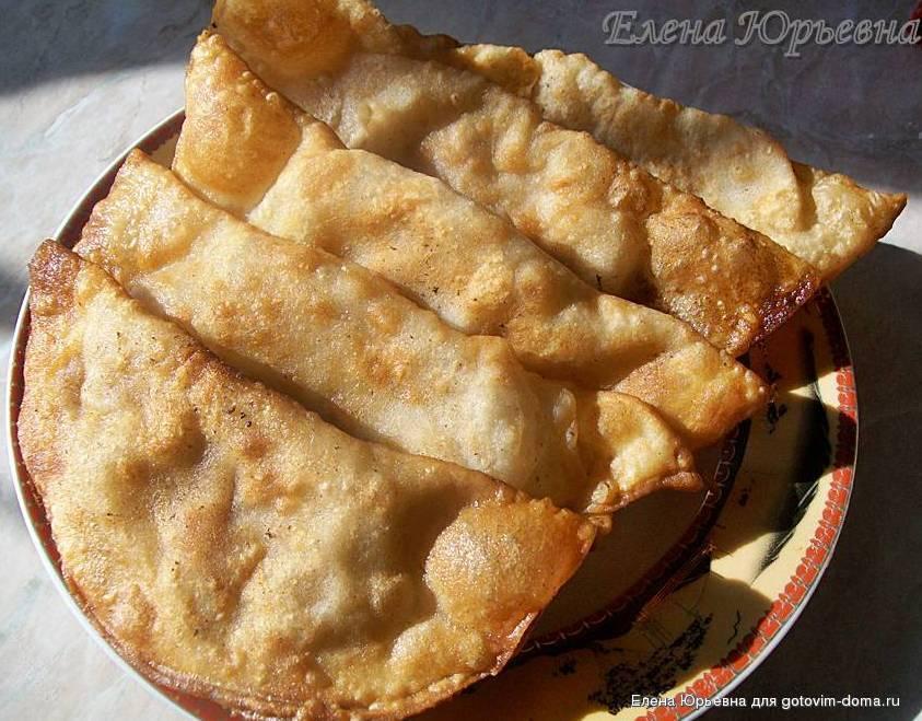 Греческие чебуреки рецепт пошаговый