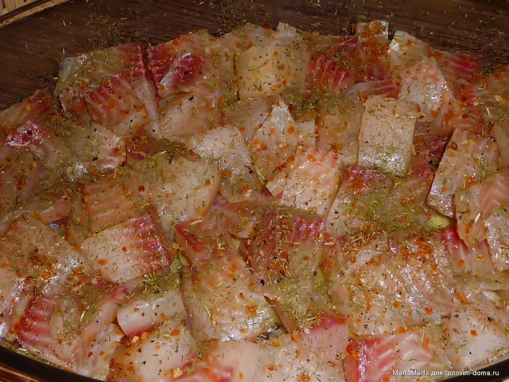 Рыбная запеканка без картошки в духовке