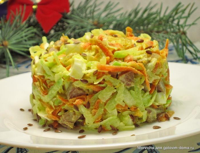 салат клязьма с редькой рецепт с фото