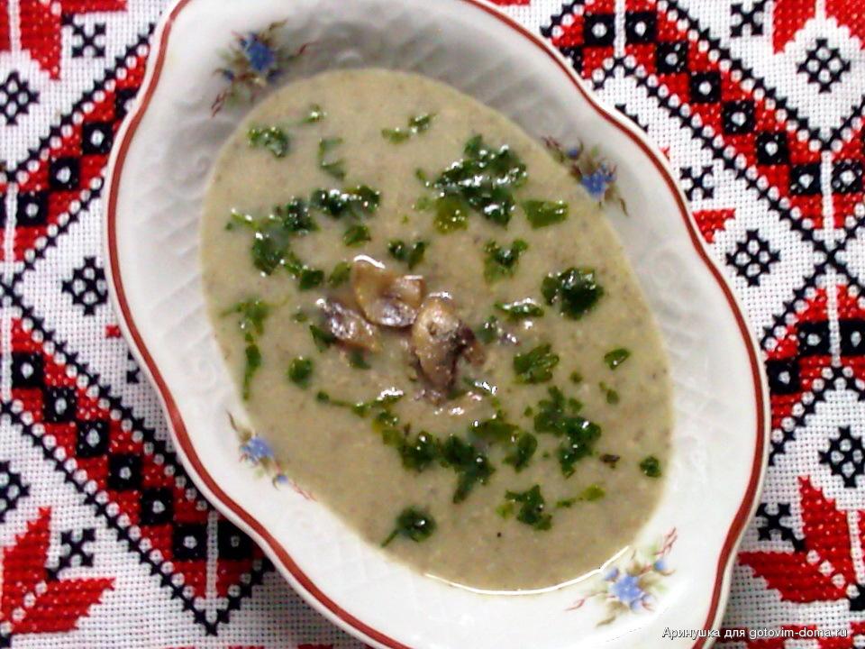 Суп из белых сушеных грибов рецепт – русская кухня