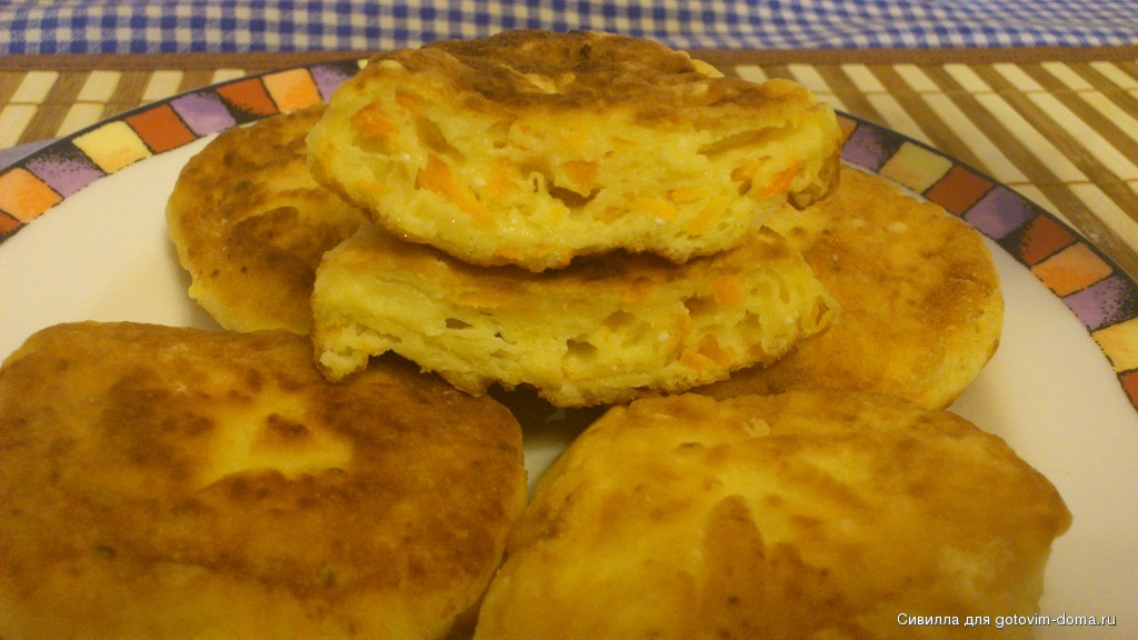 Сырники с творога с тыквой рецепт пошагово