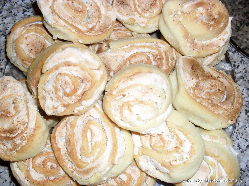 рецепт печенья осиное гнездо