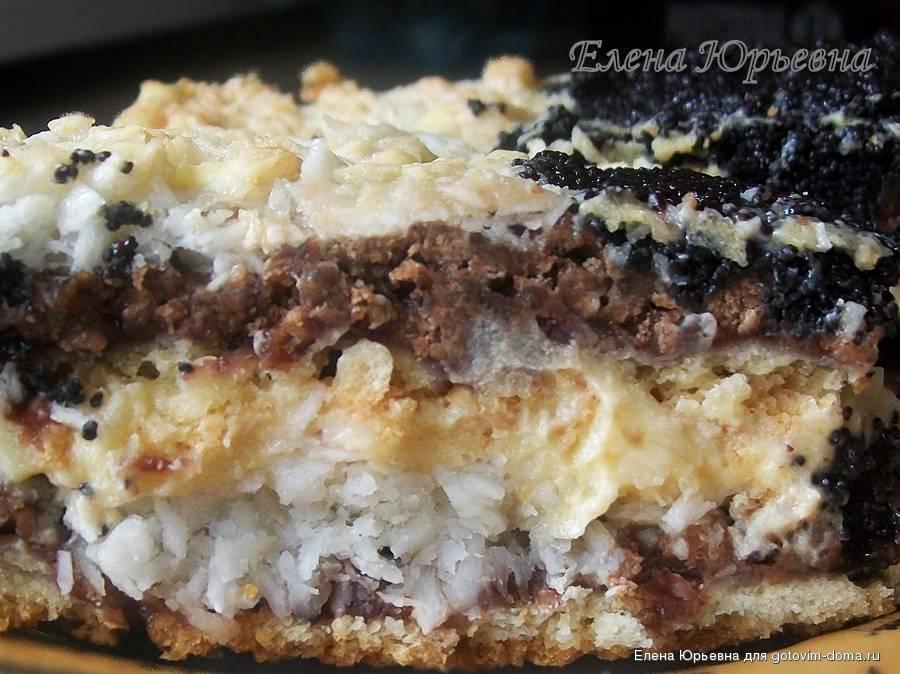 Торт с кокосовой стружкой  Рецепты с фото