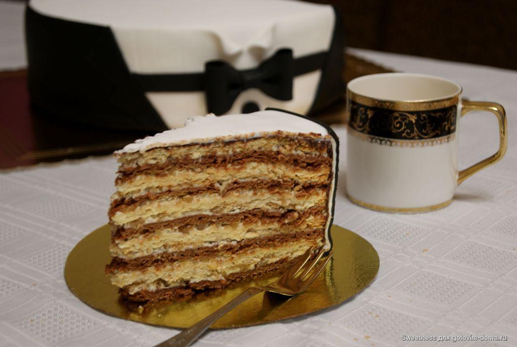 рецепт торт белочка
