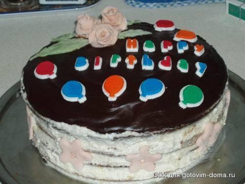 Торт птичье молоко • бисквитные торты