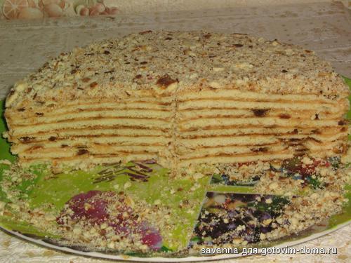 Економний торт рецепт з фото