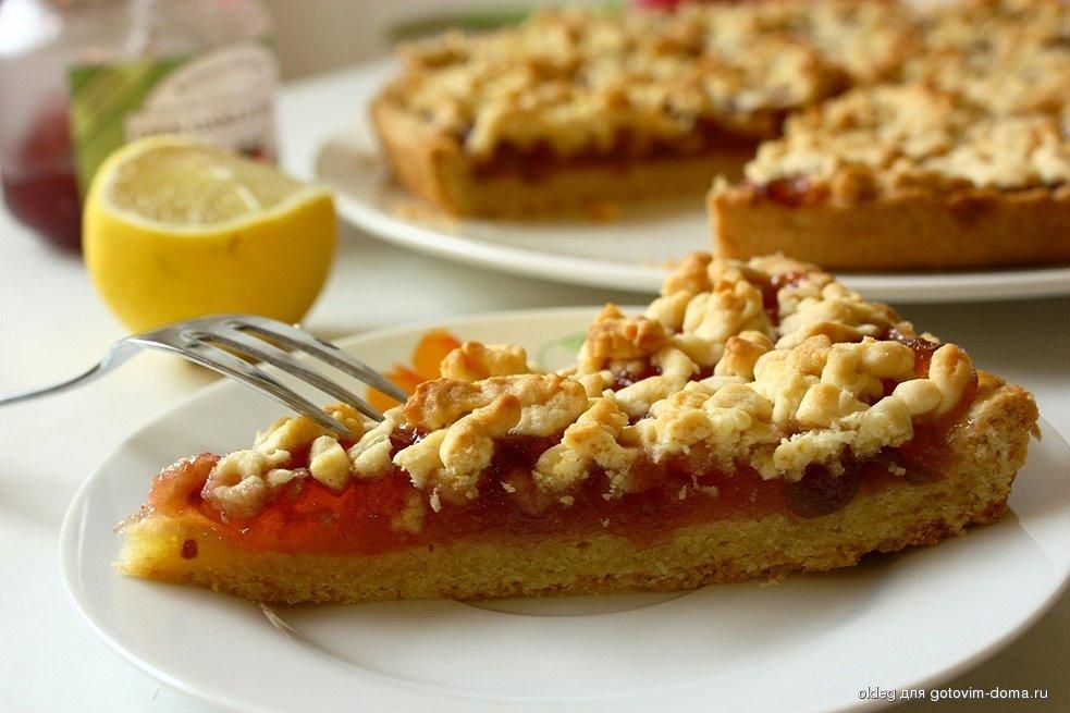 Тертый пирог с яблоками рецепт пошагово