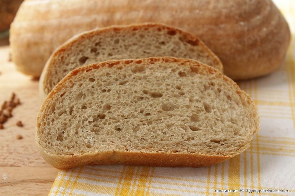 Хлеб из пшеничной муки приготовленный с душой