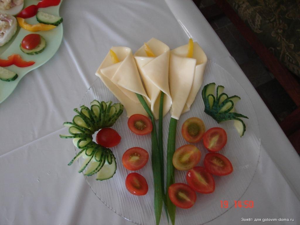 Удивить гостей салатами на юбилей с фотографиями