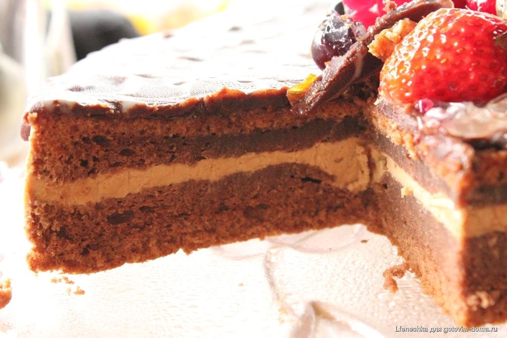 Шифоновая прага • бисквитные торты