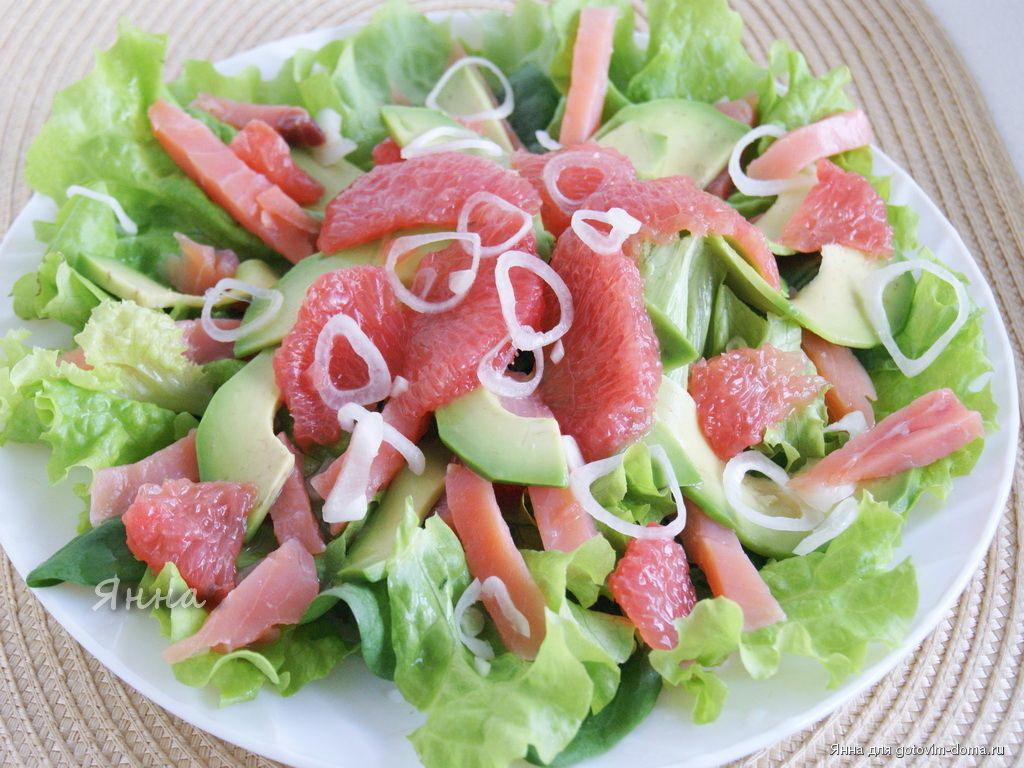 Вкусный салат с красной рыбой  рецепты к праздниre