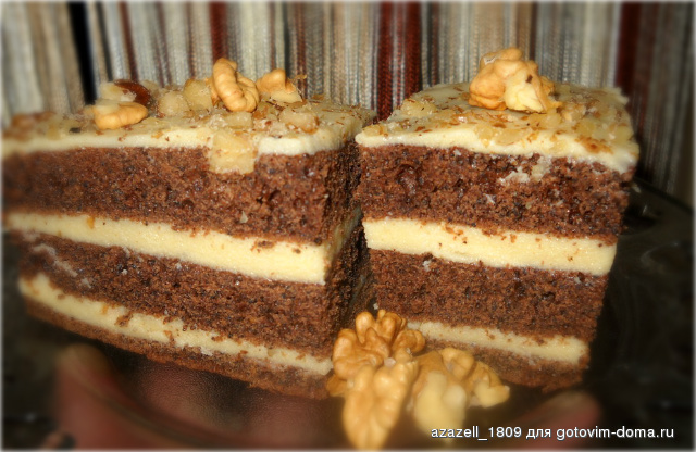 Шоколадный торт арабские сказки рецепт с фото