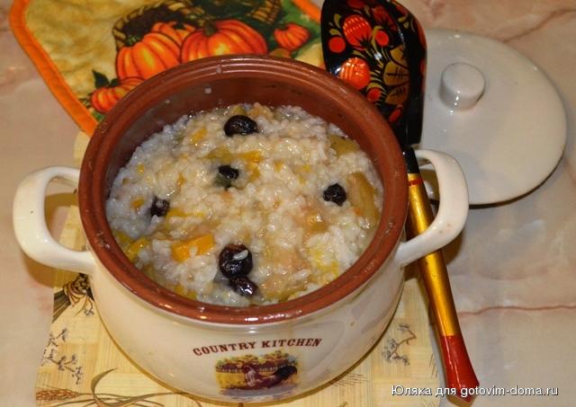 Каша рисовая с мясом в духовке рецепт