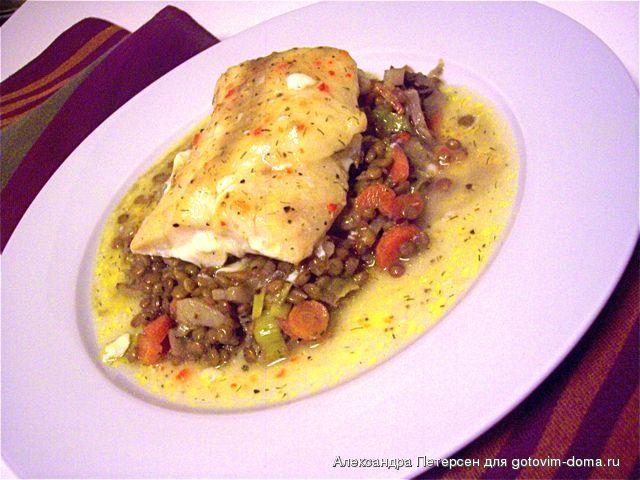 блюда из белой рыбы