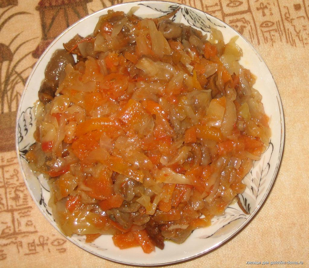 Как сделать вкусную солянку из свежей капусты