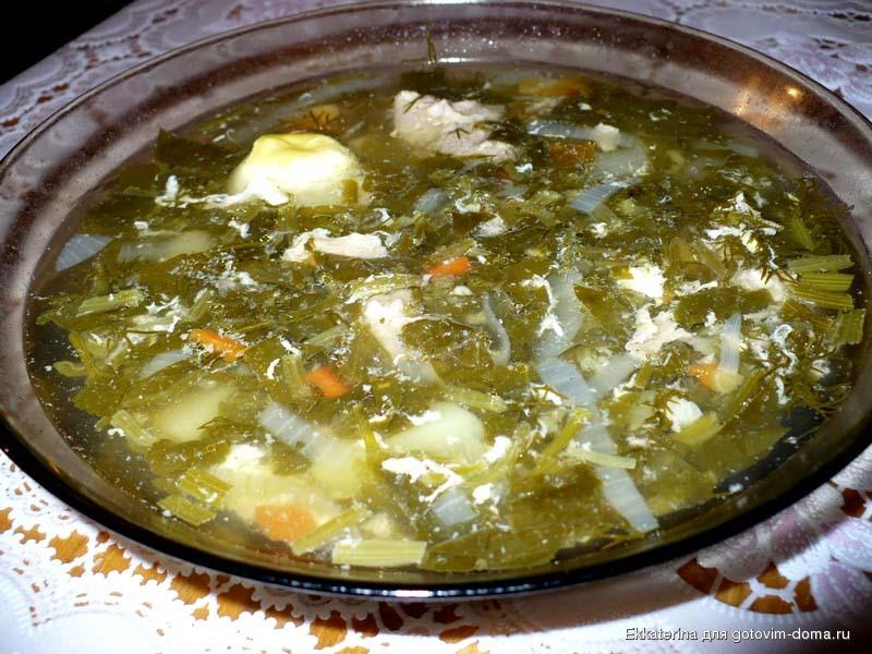 зеленые щи рецепт с щавелем