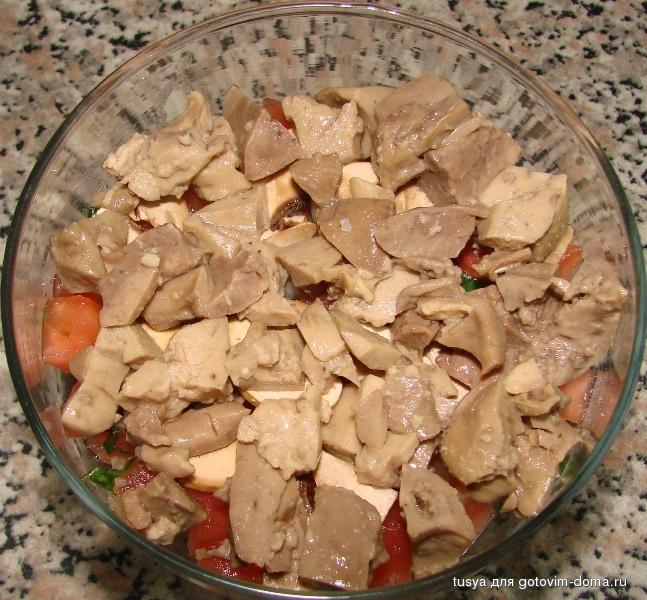 салаты из печени минтая рецепты с фото может