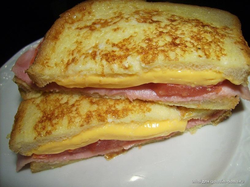 Что приготовить в бутерброднице фото рецепт
