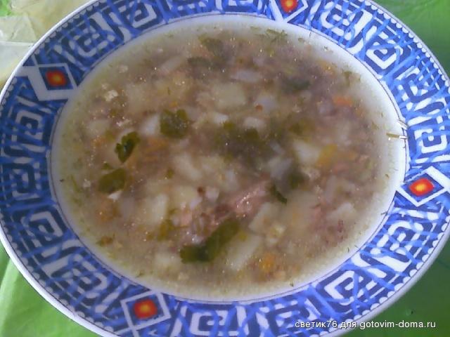 Рецепт рыбный суп с гречкой