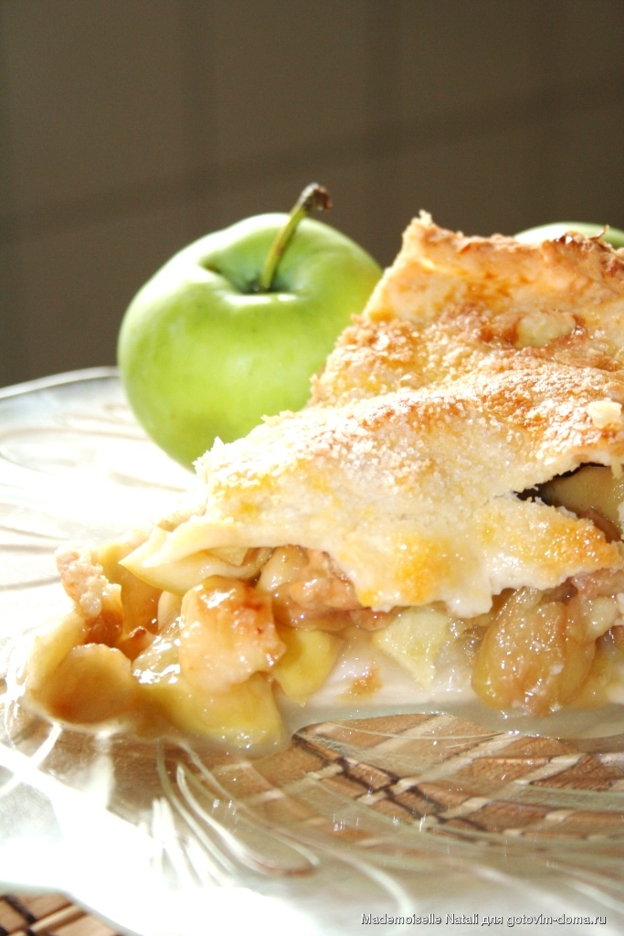 отмечает яблочный пай рецепт с фото стать