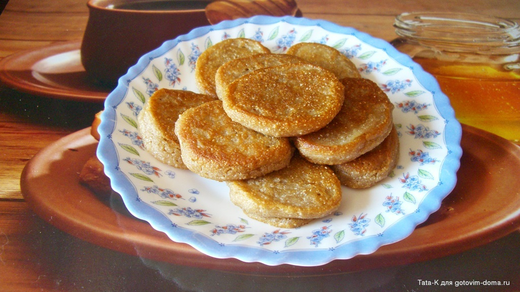 Оладьи из гречневой муки пышные рецепт