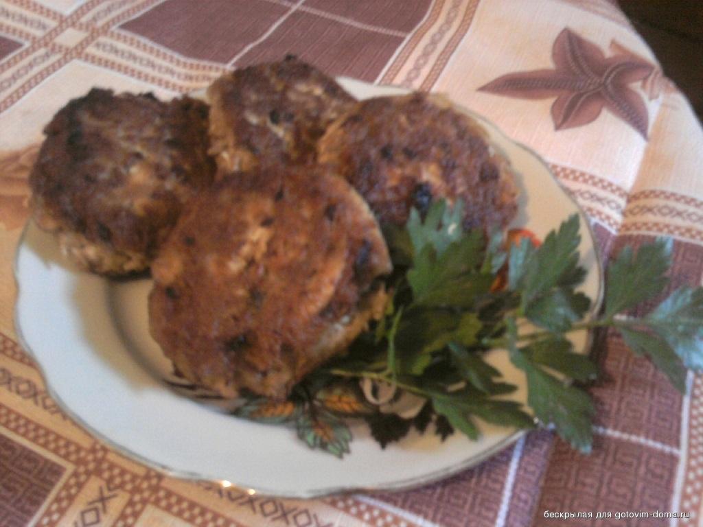 Котлеты из вареной курицы рецепт с фото