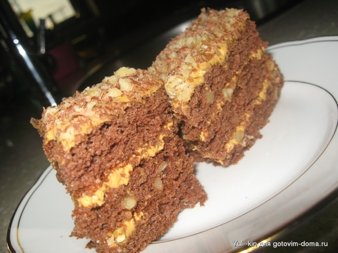 Золотий ключик торт рецепт