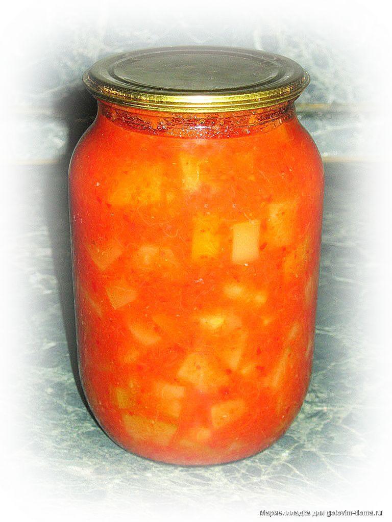 Кабачки помидоры перецы на зиму