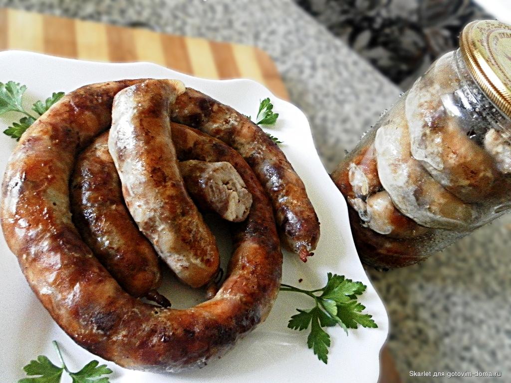 Как сделать в домашних условиях украинскую колбасу