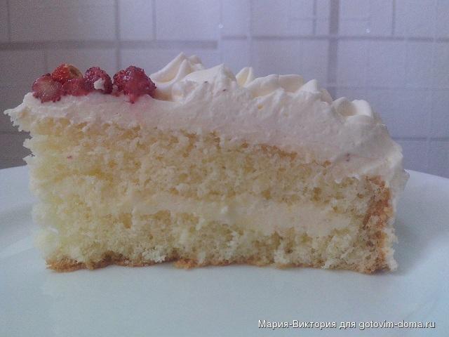 Торт белый трюфель рецепт с фото