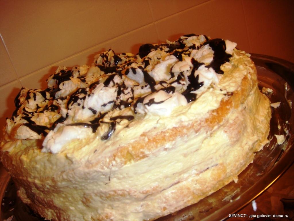 как быстро приготовить торт с фото