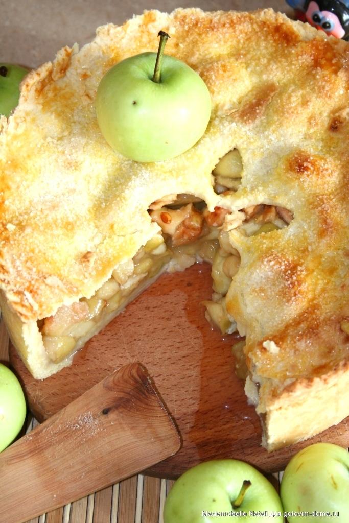 яблочный пай рецепт с фото этом видео