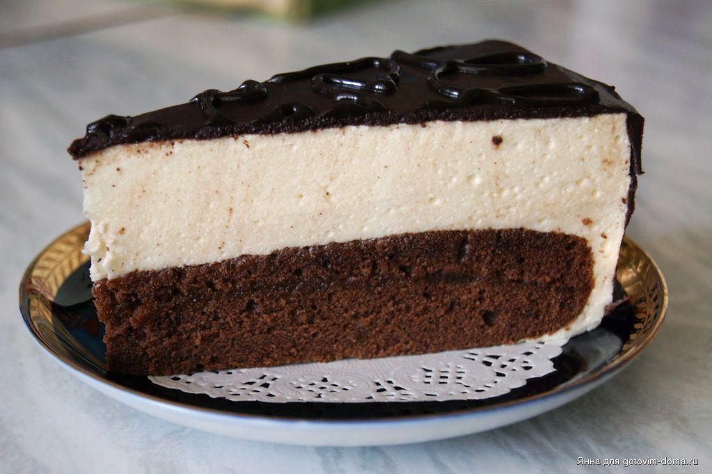 Рецепт шоколадного торта с птичьем молоком
