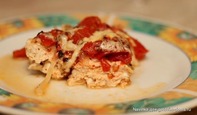 пошаговый рецепт филе индейки в духовке с картошкой