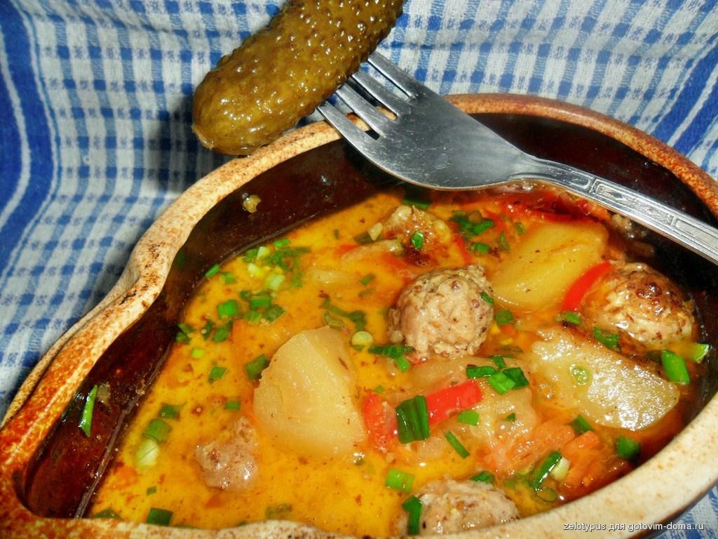 Рецепты рыбы горшочке духовке фото