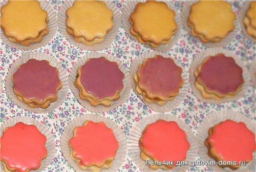 пирожное песочное-глазированное рецепт #9