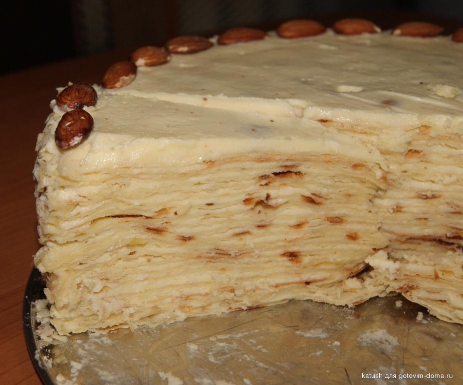 Фото рецепты тортов на сковороде