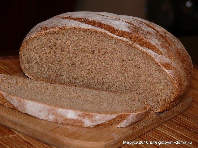 Ржаной хлеб на дрожжах в духовке рецепт пошагово