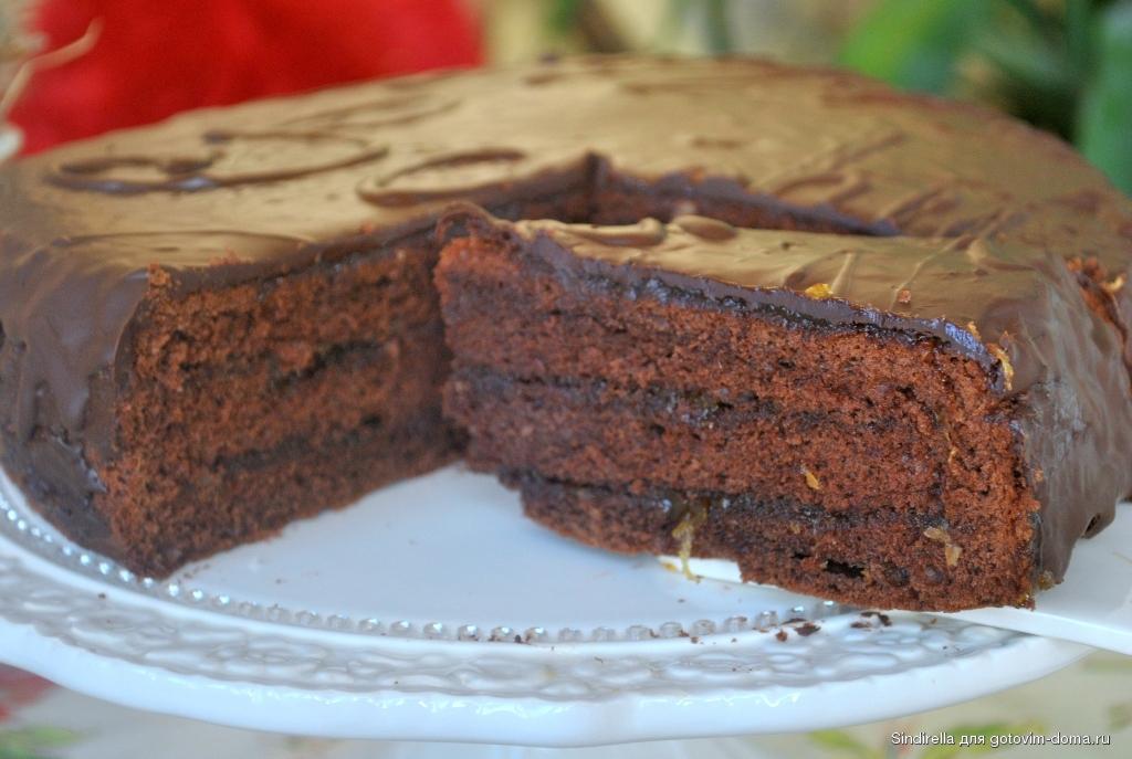 Венский торт захер с фото