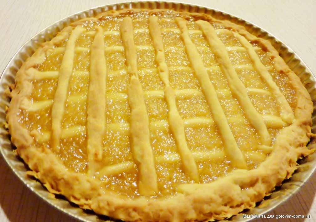 Начинка лимонная для пирога