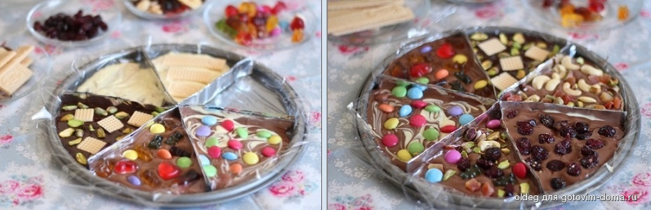 Шоколад своими руками с текстом 308