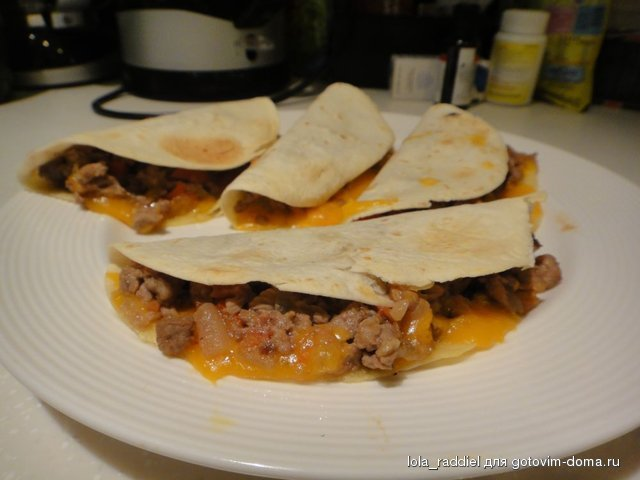 Мексиканские тако (tacos) с курицей пошаговый рецепт с ...