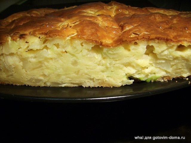 пирог с капустой в мультиварке тесто на кефире