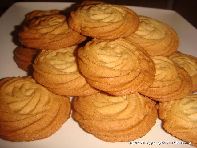 Нежное песочное печенье фото
