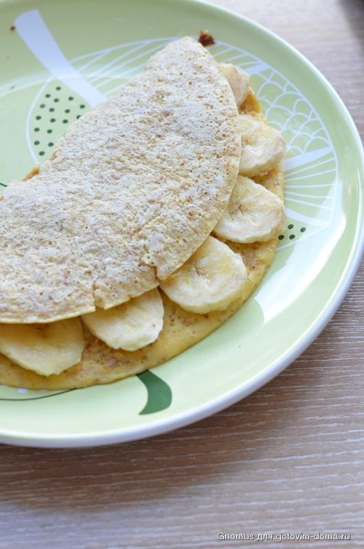 овсяноблин с бананом рецепт для правильного питания