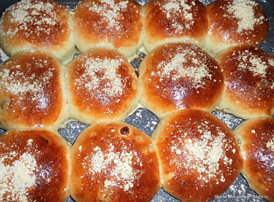 булочки калорийные рецепт по госту сколько калорий